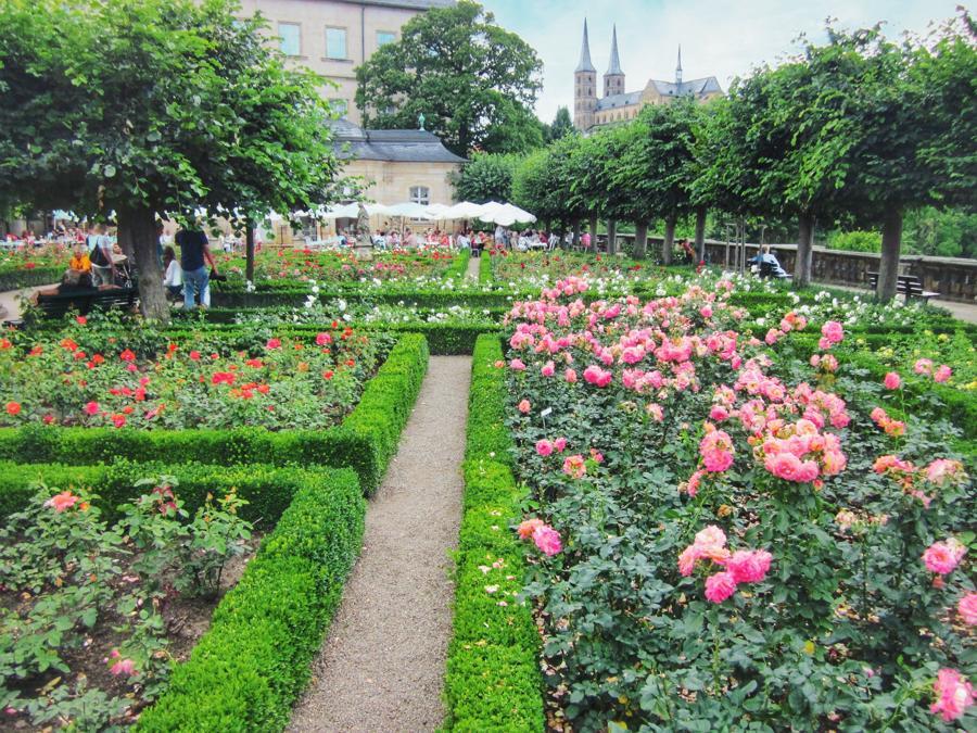 Bamberg Sehenswürdigkeiten_Rosengarten