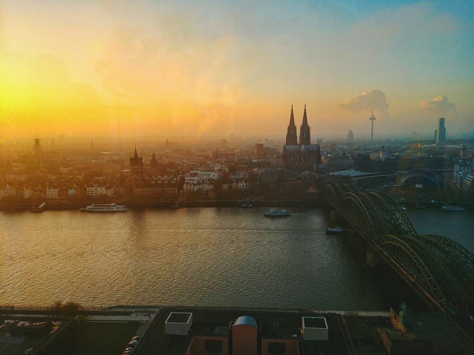 Köln Sehenswürdigkeiten_Blick vom KölnTriangle