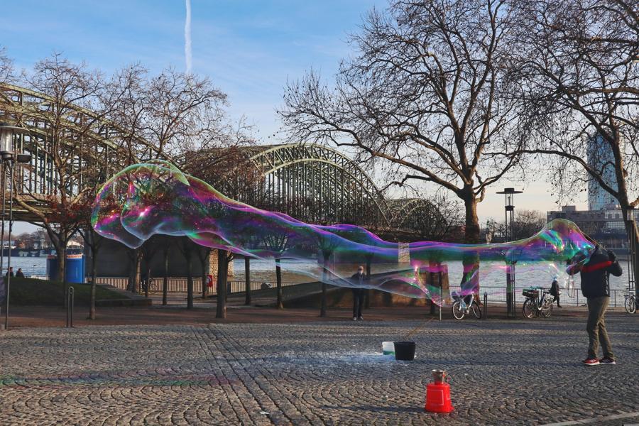Köln Sehenswürdigkeiten_Hohenzollernbrücke