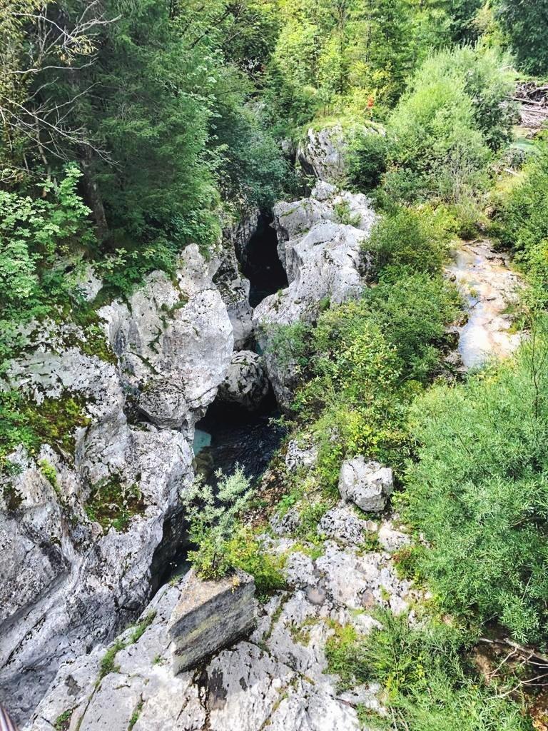 Wandern in Slowenien_Soca Tröge