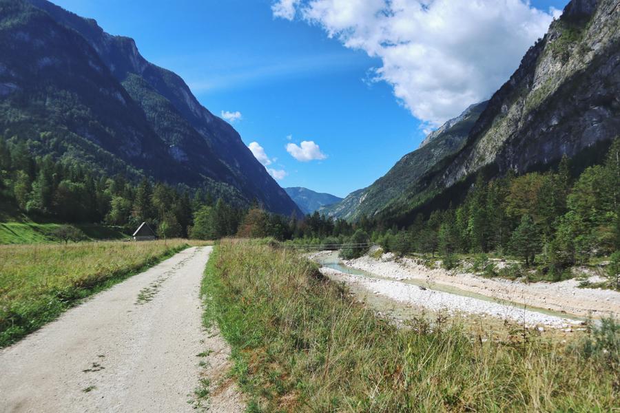 Wandern in Slowenien_auf dem Soska Pot bei Trenta