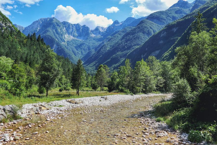 Wandern in Slowenien_auf dem Soska Pot_Rückweg nach Trenta