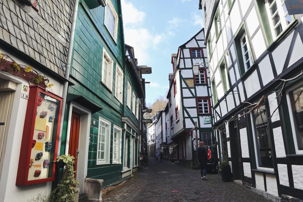 Monschau Rundwanderweg_Altstadt Monschau