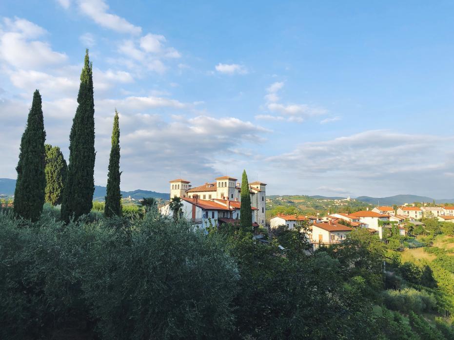 Slowenien Geheimtipp_Weinregion Brda_Schloss Dobrovo