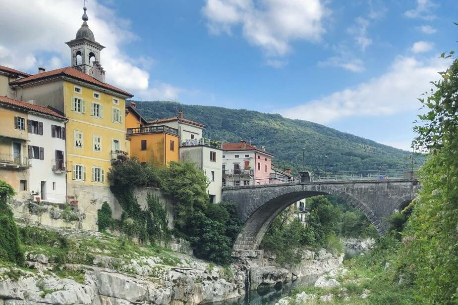Slowenien Sehenswürdigkeiten_Kanal ob Soci