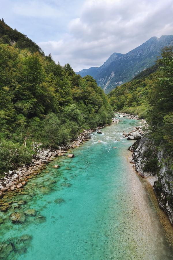 Slowenien Sehenswürdigkeiten_Soca bei Kobarid