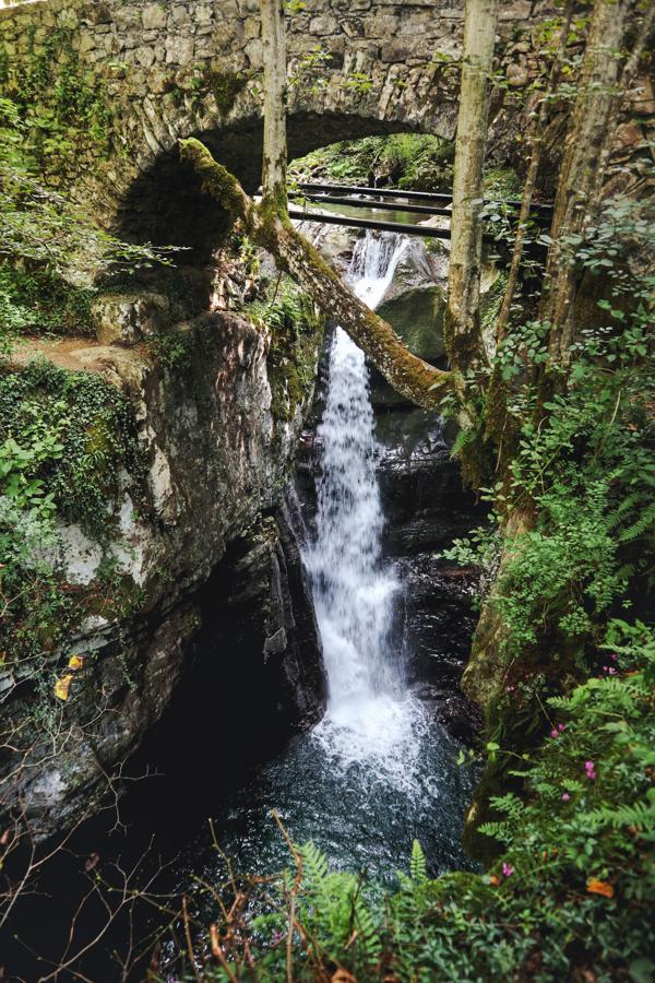 Slowenien Sehenswürdigkeiten_Wasserfall bei Kobarid