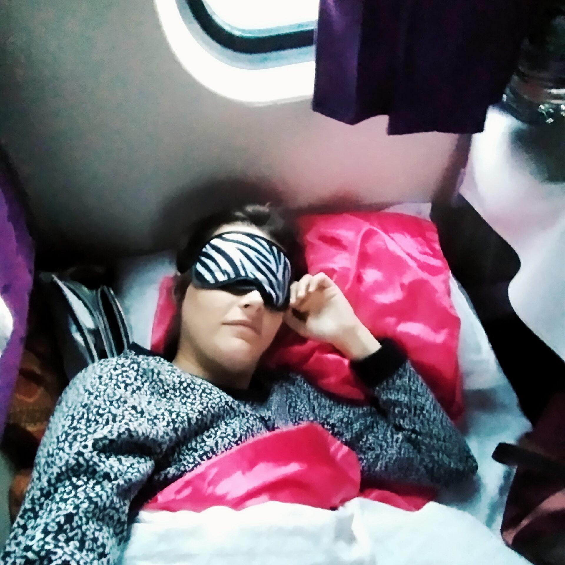 Schlafen im Nachtzug nach Tibet