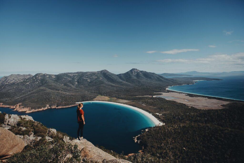 Melly_Berg zu Meer_Allein reisen als Frau in Neuseeland_Tasmanien