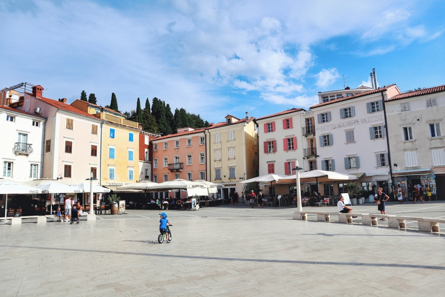 Slowenien Urlaub am Meer_Tartiniplatz in Piran