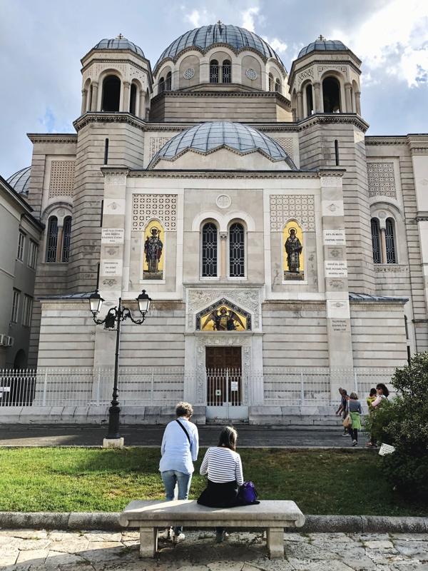 Ein Tag in Triest_ Kirche San Spiridione